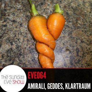 Sunday Eve Guests Amirali, Geddes and Klartraum