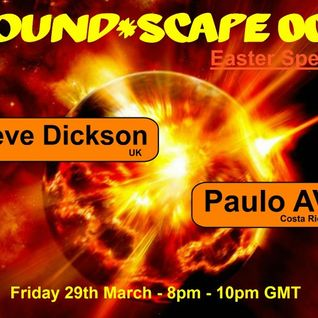 Paulo AV - Sound Scape Podcast with Steve Dickson