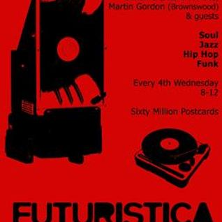 Guest Mix for Futuristica Music, 60MPC 22.02.12