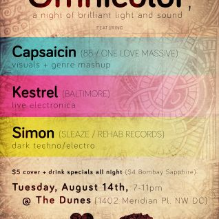 Omnicolor @ The Dunes, 8-14-2012