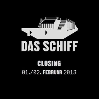 Steve Cole | 01.02.2013 Closing-Set @ Das Schiff, Basel | Dj-Mix