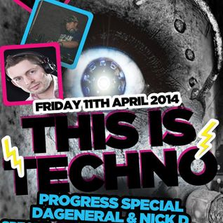 Nick D Pres This Is Techno LIVE 005 DarkHorseRadio (11.04.14)
