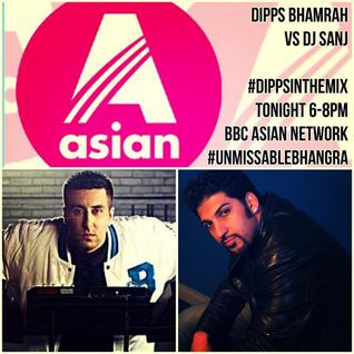 Dipps Bhamrah vs DJ Sanj - #DippsInTheMix (September 2015)