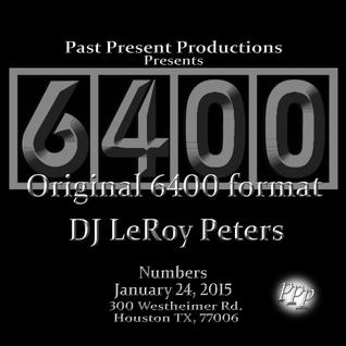 Club 6400 live at Numbers January 24th 2015