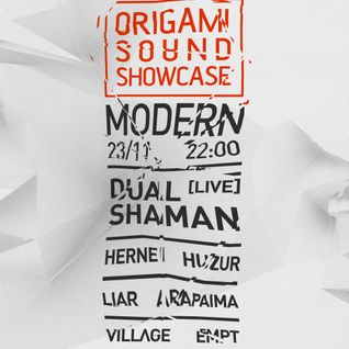 Burn Studios presents Origami Sound Showcase @ Modern: Empt