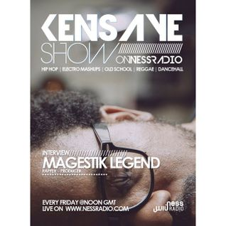 Magestik Legend interview - Kensaye Show - Ness Radio