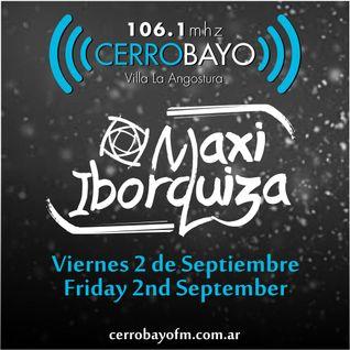 Maxi Iborquiza @ Cerro Bayo - Viernes 2 Septiembre | Friday 2nd September