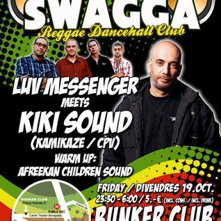 Luv Messenger @ Ragga Swagga 19/10/2012