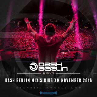 Dash Berlin – Sirius XM November Mix 2016