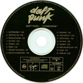 Daft Punk - Homework Album • Full Streaming