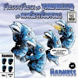 Tonewrecker / Freddy Fresh / Nonsectradicals - Madness (Edits Volume 3) - Delic Records Tokyo