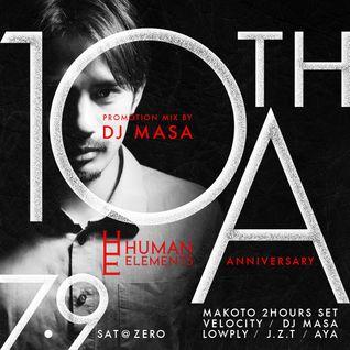 DJ MASA - Human Elements 10th Anniversary Mix