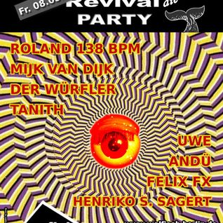 Roland 138 BPM Live-DJ-Set@WALFISCH Revival Party (08.05.2015)