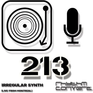 Techno Music | Irregular Synth in the Rhythm Converted Podcast 213 (Rhythm Collective Mix)