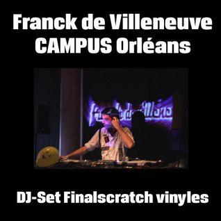 Franck de Villeneuve # Finalscratch vinyls DJ-Set # CAMPUS Orléans