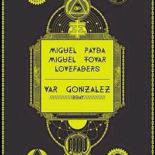 DJ Miguel Tovar - Live DJ set @ Métrica Club (Málaga)