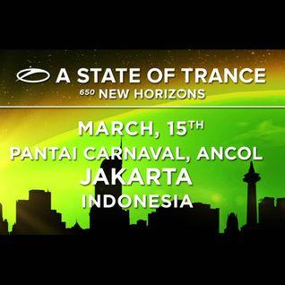 Armin van Buuren - Warm-Up set - Live @ A State of Trance, ASOT 650 (Jakarta, Indonesia) - 15.03.201