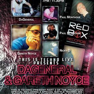 Nick d Pres This Is Techno Live 006 Guest Paul Montague 09.05.14