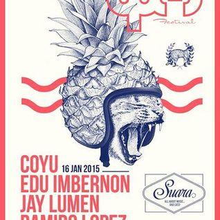 Jay Lumen - Live @ The BPM Festival 2015, Tabu, Suara Night (Playa Del Carmen, Mexico) - 16.01.2015