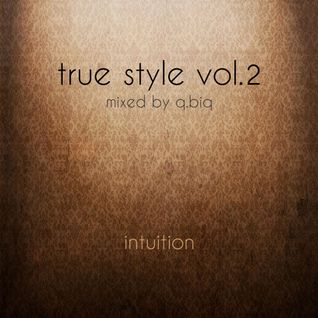 Intuition | true style vol.2 | mixed by q.biq | 30.04.2014