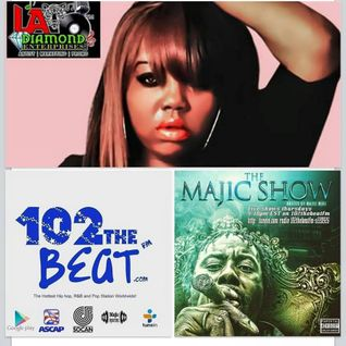 The Majic Show Thursday AUG 6 2015 LIVE SHOW RECORDING on 102thebeatfm