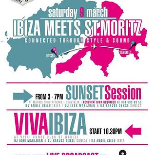 Igor Marijuan / Ibiza Meets St.Moritz @ ViVai Club / 9.March.2013 / Ibiza Sonica