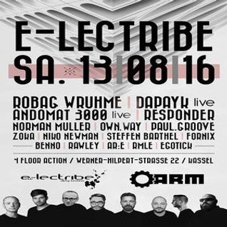 Norman @ e-lectribe - A.R.M. Kassel - 13.08.2016
