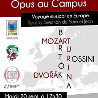 Opus au Campus- 20/09/2016 - Radio Caampus Avignon