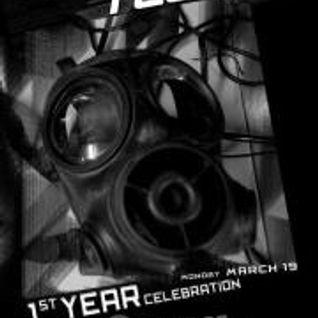 Banging Techno sets 1 year Birthday Stevie Wilson // Florian Munkt