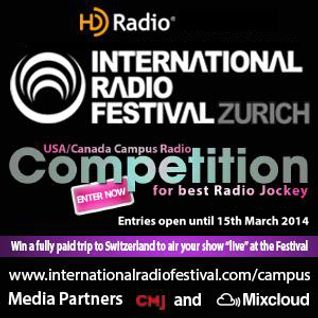 IRF Search for the Best US/Canada College Radio Jockey 2014 Idle Worship Show #1