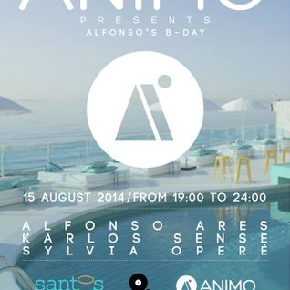 ALFONSO ARES - ANIMO POOL PARTY @ SANTOS COAST CLUB - 15 AUGUST 2014