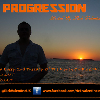 Rick Valentine Pres. PROGRESSION 034 With Guest Anguilla Project aka Skytech 13-05-2009