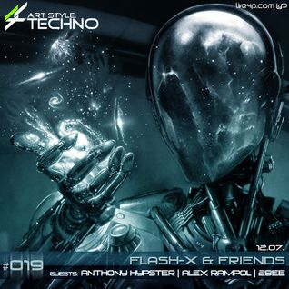 2bee@Art Style: Techno | Flash-X & Friends #019 | Guest