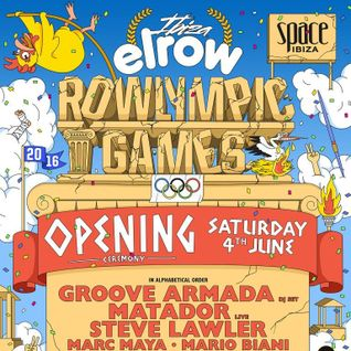 Steve Lawler - Live at Ibiza Elrow, Rowlympic Games, Opening Ceremony, Space Ibiza (04-06-2016)