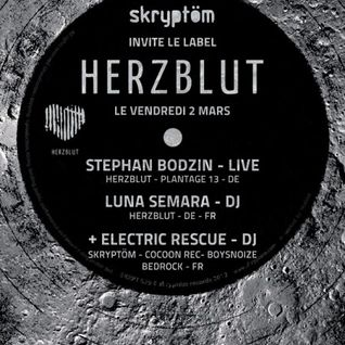 Luna Semara (Herzblut Recordings) @ Skryptom Party, Rex Club - Paris (02.03.2012)