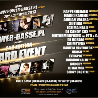 Ukash -150BPM @Hardtechno Event 21.04.2013