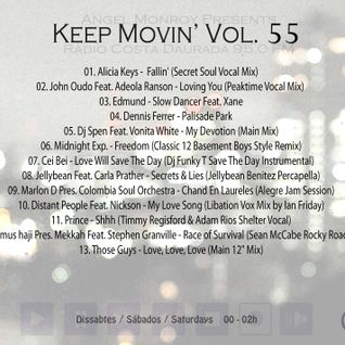 Angel Monroy Presents Keep Movin' 55 (Final 3ª Temporada)