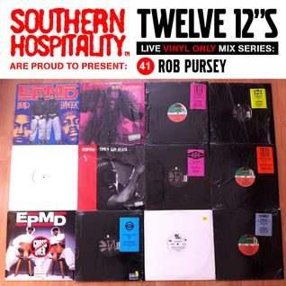 Twelve 12's Live Vinyl Mix: 41 - Rob Pursey - Hit Squad Special!