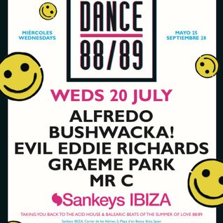 This Is Graeme Park: Dance 88/89 @ Sankeys Ibiza 20JUL16 Live DJ Set