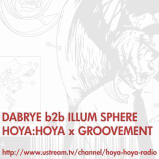 DABRYE b2b ILLUM SPHERE (HOYA HOYA) // 27NOV11