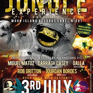 JourdanBordes/Global Destinations 33/MoonIslandRecords @ Jungle Experience,Koh Phangan Thailand