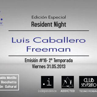 Pulsar 31.05 - Resident Night @Luis Caballero & Freeman