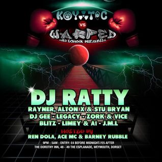 KAYOTIC VS WARPED WITH DJ RATTY PROMO  BY A1