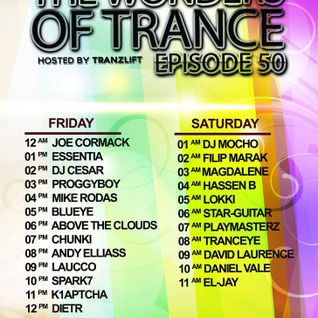 The Wonders Of Trance 50 by TranzLift - Mike Rodas Guest Mix