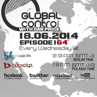 Dan Price - Global Control Episode 164 (18.06.14)