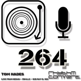 Techno Music | Tom Hades b2b Roy El Kei in the Rhythm Convert(ed) Podcast 264 (Live at DEEP -Zwolle)
