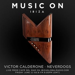 Victor Calderone  - Live At Music On PreParty, Cafe Del Mar (Ibiza) - 12-Jun-2015