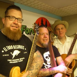 DJ Steve Stack Of Wax ~ ROCKIN' RADIO with my guests The Dead Bone Ramblers ~ 5 August 15