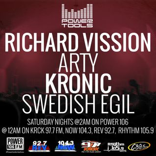 Powertools Mixshow - Episode 8-6-16 Ft: Arty, Kronic, & Swedish Egil