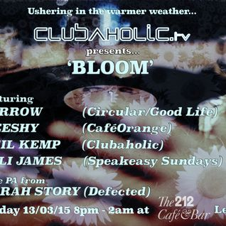NEIL KEMP - BLOOM @ THE 212 MARCH 2015